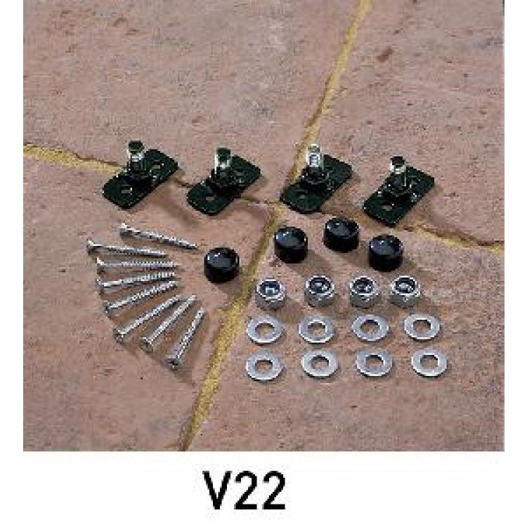 V22 Fence/Railing Fitting Packs