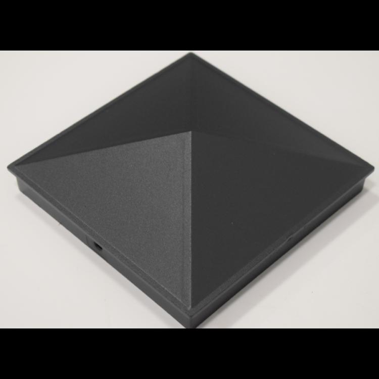 Aluminium cap 150x150mm - Grey