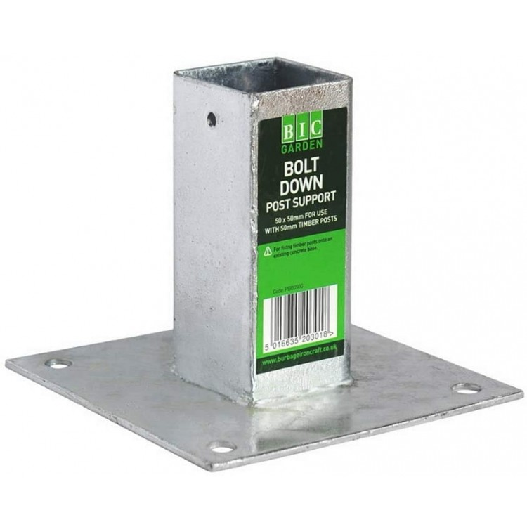 50X50 PLAIN BOX BOLT DOWN