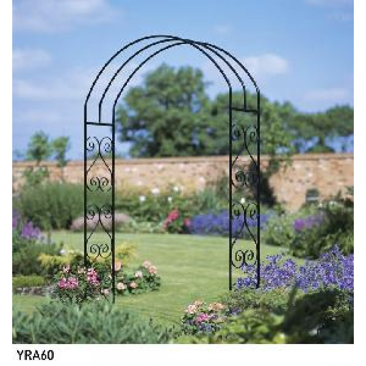 YORK LARGE ROSE ARCH 305MM D X 1524MM W X 2032MM H