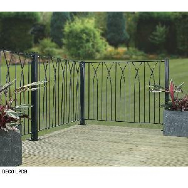 RIPPLE LARGE DECK FENCE PANEL 813MM HIGH X 1130MM WIDE