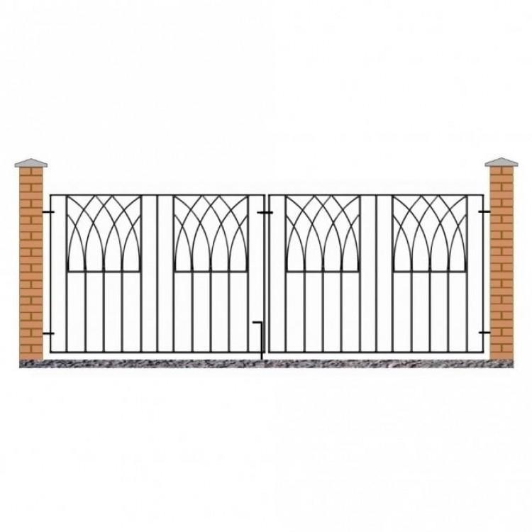 Abbey Double Driveway Gates