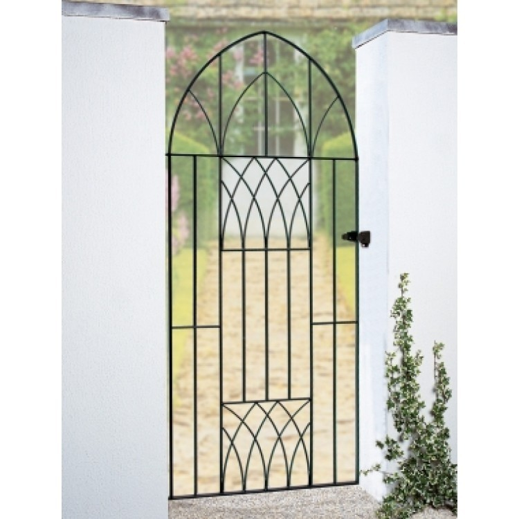 Abbey Tall Bow Top Single Gates