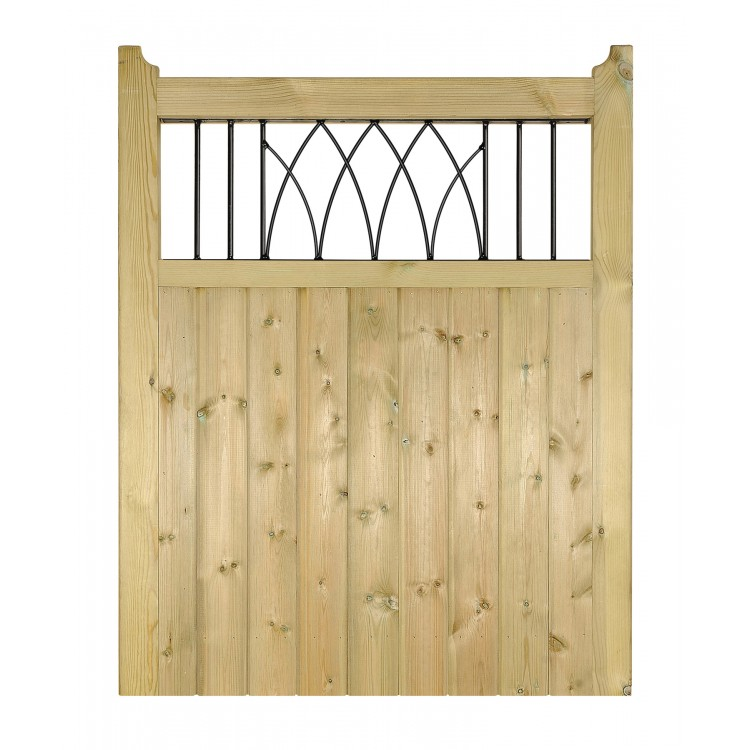 WINDSOR WOODEN SINGLE GATE 1200MM HIGH X 750MM WIDE
