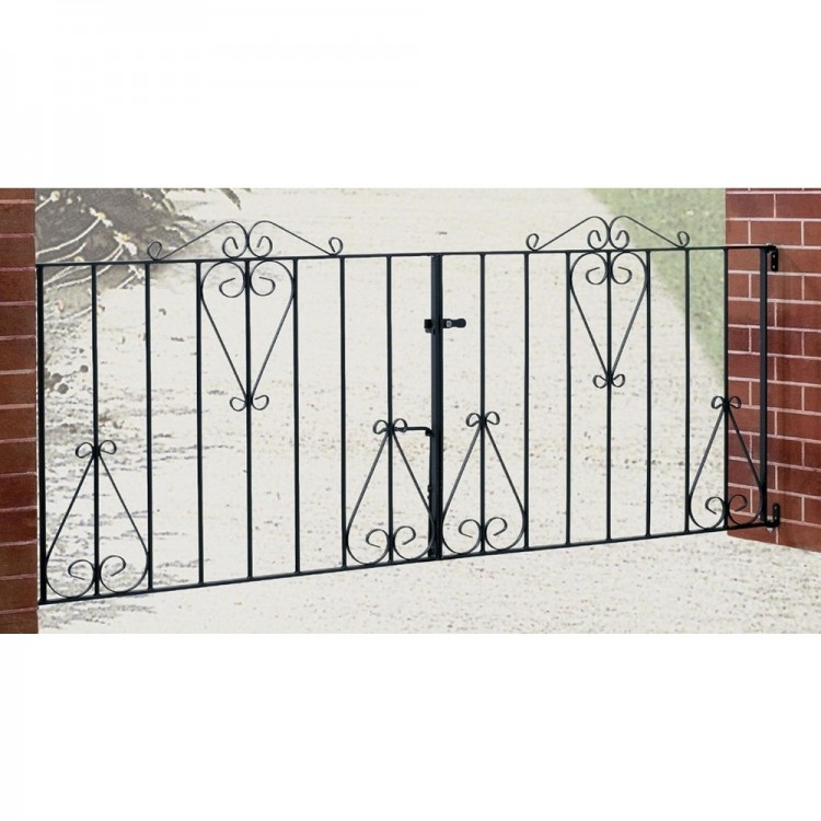 Classic Double Driveway Gate 914mm High
