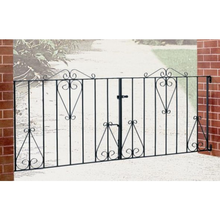 "CLASSIC DOUBLE GATE 36"" HIGH X 7' GAP"