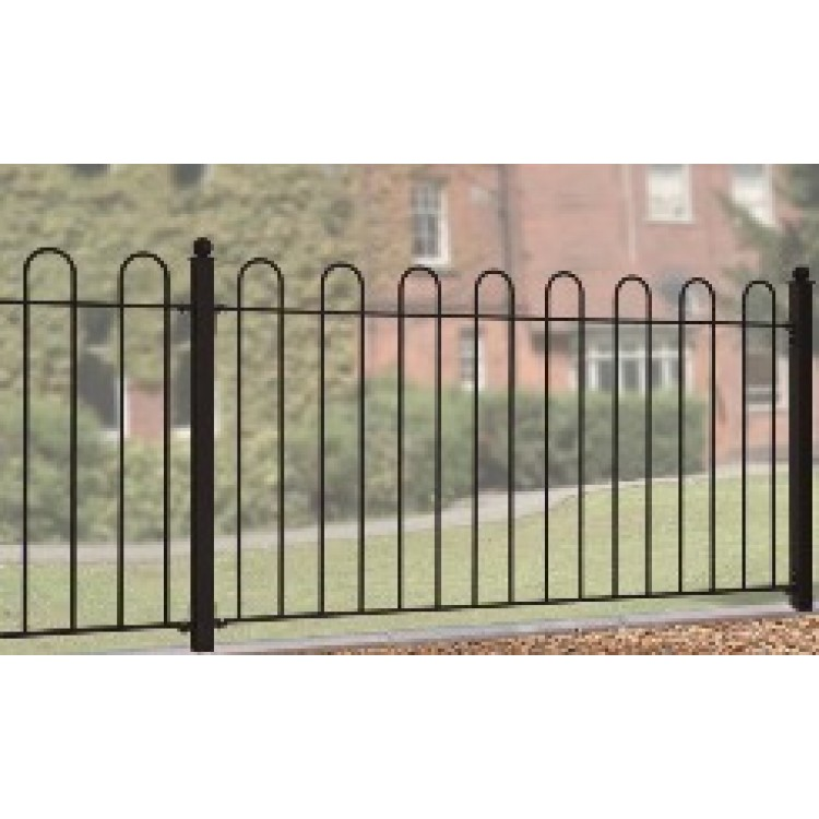 "COURT HOOP TOP FENCE PANEL 37"" HIGH X 6' GAP"