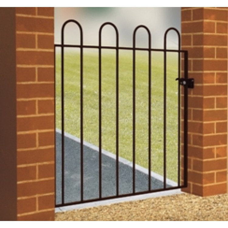 "COURT HOOP TOP SINGLE GATE 37"" HIGH X 3'3"" GAP"