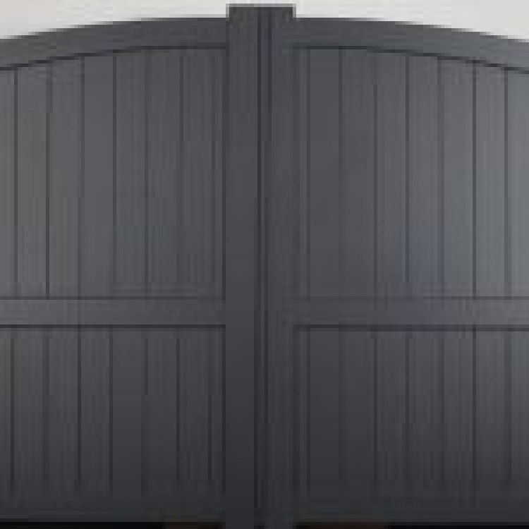 Double swing gate 3750x1800mm p/c Sandy grey