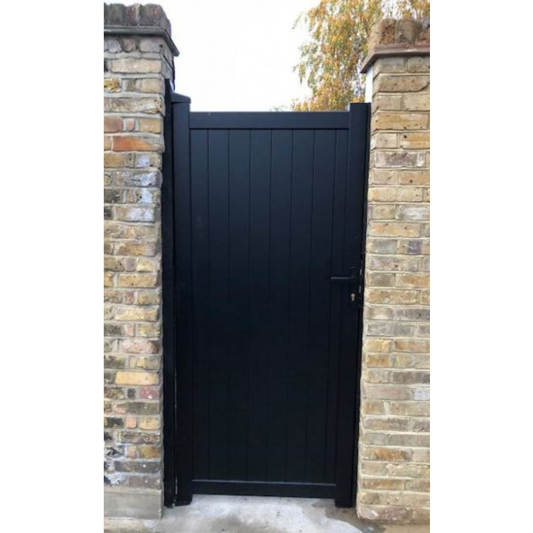 Pedestrian gate 900x1600mm p/c Sandy wood