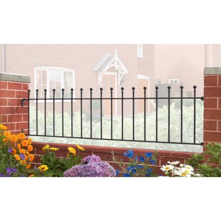 "MANOR RAILING 18"" HIGH X 6' GAP"