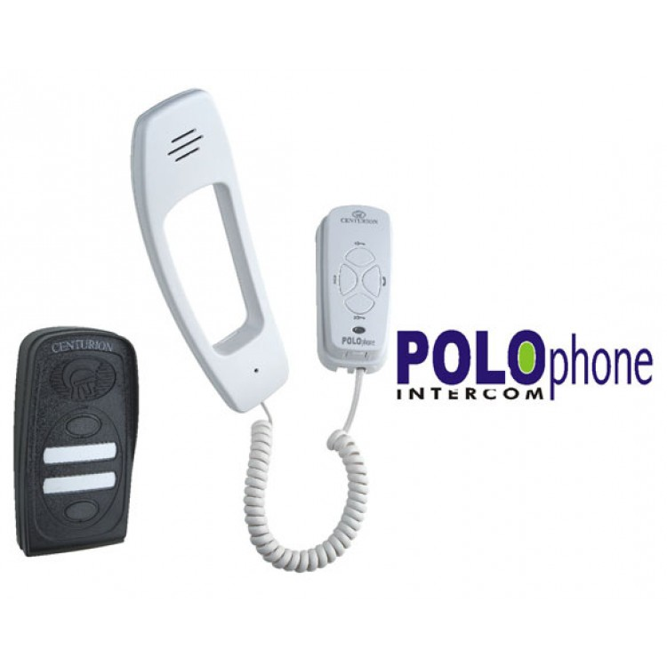 Centurion Hardwired POLOphone (Domestic/Small Commercial) Intercom Kit