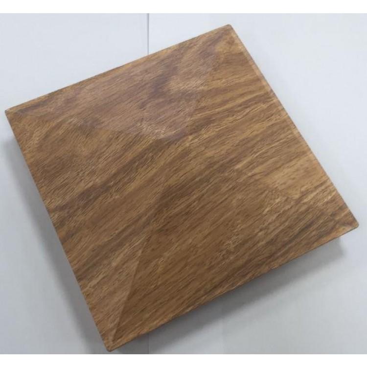Aluminium cap 150x150mm - Wood