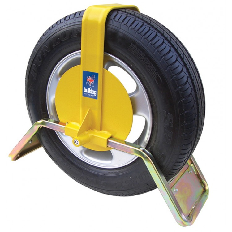 Bulldog QD44 Wheel Clamp