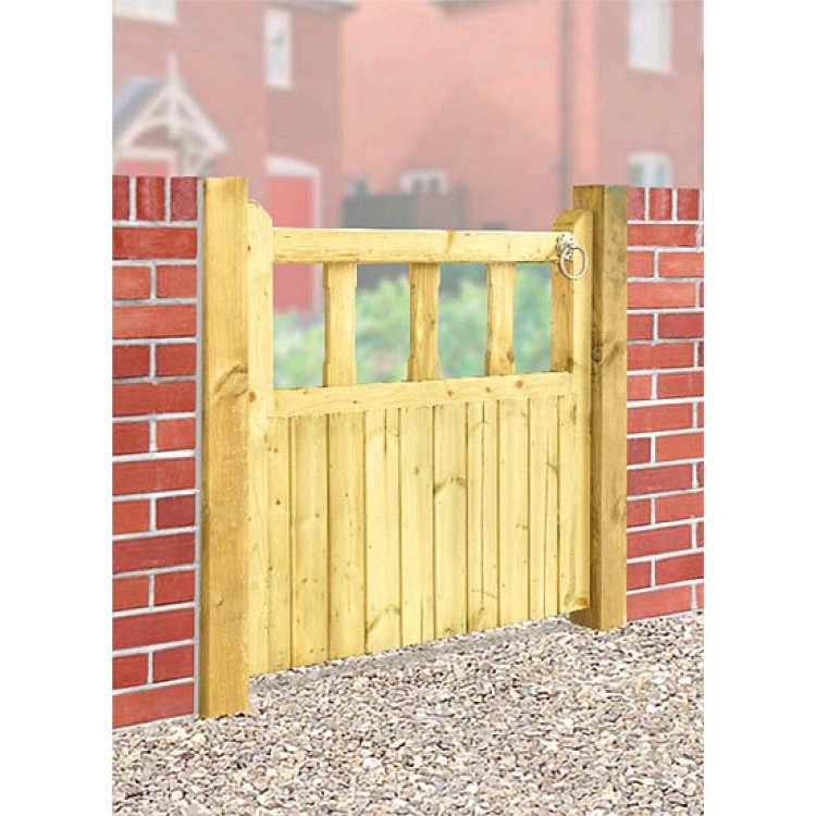 QUORN SINGLE GATE 900MM H X 750MM  WIDE