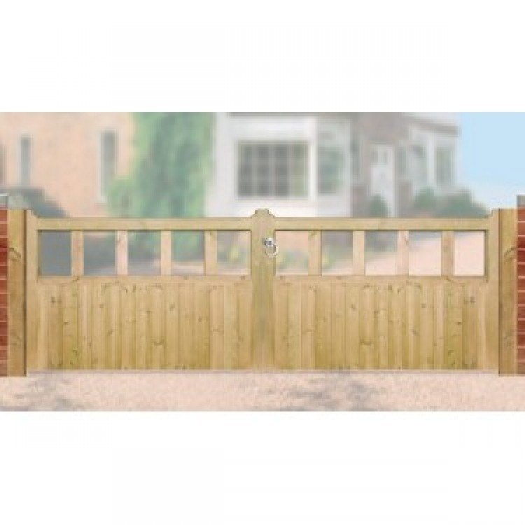 QUORN DOUBLE GATES 900MM HIGH X 2400MM WIDE