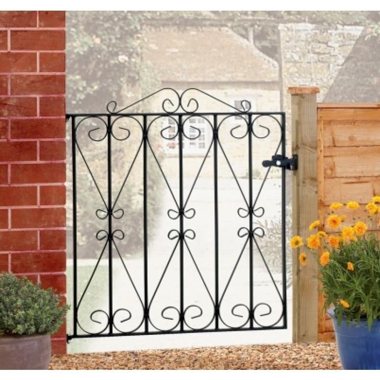 Regent Low Single Garden Gates 914mm High